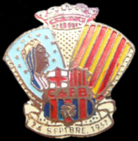 Pin Inauguracio Camp Nou