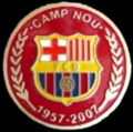 Pin Camp Nou 50 anys