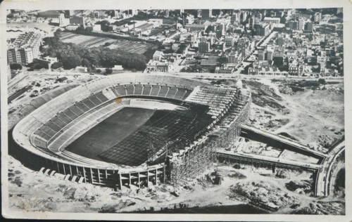 Postal Philips Camp Nou