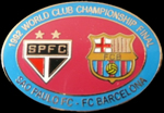 Pin #4 de la Final Intercontinental, Toyota Cup de l'any 1992. Sao Paulo vs FC Barcelona