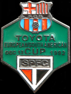 Pin #3 de la Final Intercontinental, Toyota Cup de l'any 1992. Sao Paulo vs FC Barcelona